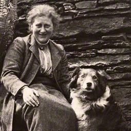 NPG P1826; Beatrix Potter (Mrs Heelis) by Charles King