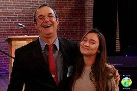 Michael Becerra and daughter, Alyssa Becerra