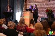Rev Greene and Elenor Miller sing