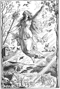 Easter Ostara_by_Johannes_Gehrts